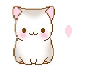 cat, kawaii, and edits image