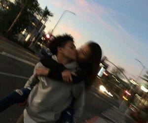 blurry, couple, and Relationship image