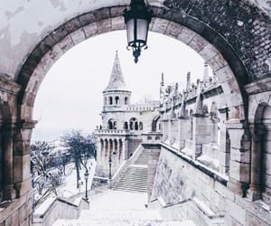 budapest, wanderlust, and winter image