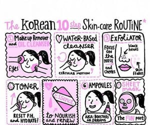book, skin care, and k-beauty image