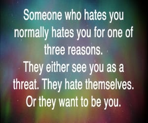 hate, jealous, and T image