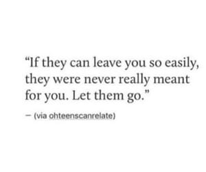breakup, Easy, and let go image