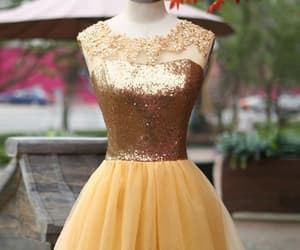 sequin prom dresses, homecoming dresses a-line, and homecoming dresses yellow image