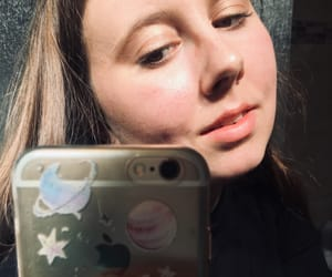 iphone, makeup, and mirror image