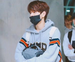 airport, mask, and stray kids image