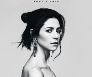 black and white, marina, and marina and the diamonds image