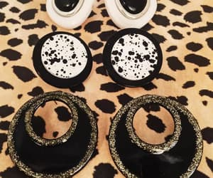 costume jewelry, 1980's, and pierced earrings image