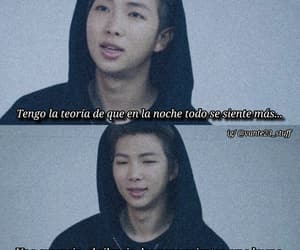 aesthetic, namjoon, and bts frases image