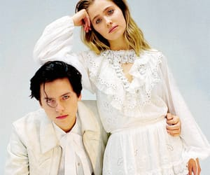 actor, cole sprouse, and haley lu richardson image