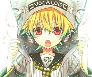 vocaloid and len kagamine image