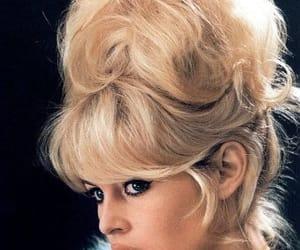 60s, bangs, and blonde image