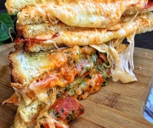 cheese, delicious, and food image