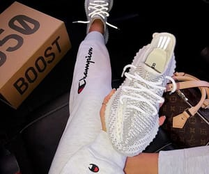 champion, LV, and yeezy image