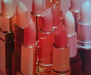 lipstick, pink, and vintage image
