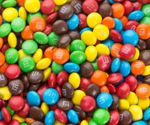 chocolate, colors, and m&ms image