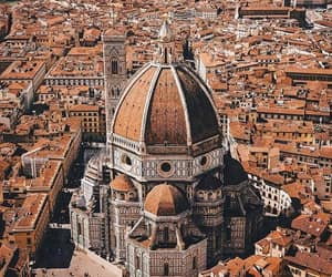 city, florence, and italy image