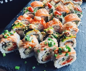 delicious, seafood, and shrimp image