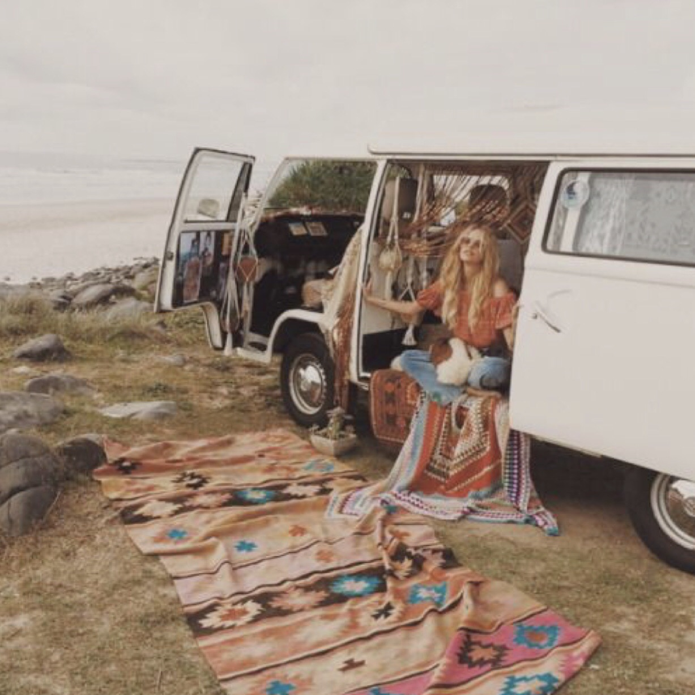 beach, retro, and style image