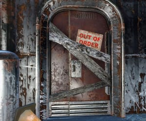 closed, disrepair, and out of order image