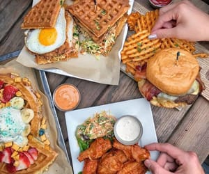 bakery, burger, and Chicken image