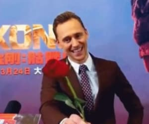rose, Valentine's Day, and tom hiddleston image
