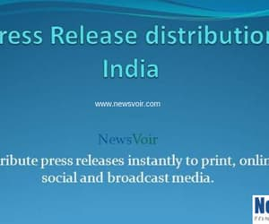 news distribution and press release image
