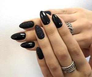 aesthetic, black, and dark image