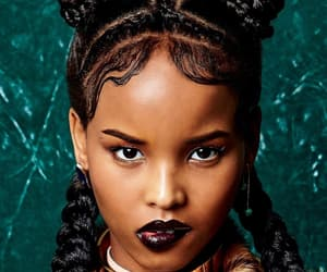 africa, black panther, and braids image