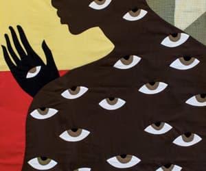 eyes, illustration, and graphic design image