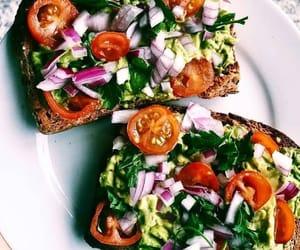 breakfast, healthy, and salad image