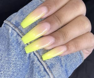 acrylic, fashion, and nails image
