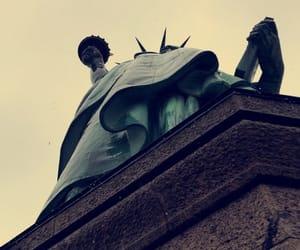 america, liberty, and new york image