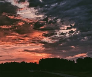 sunset and sky image