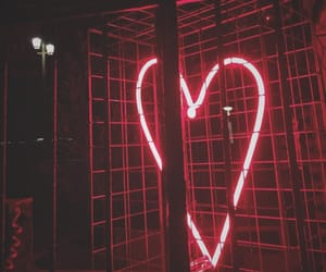 brighton, heart, and lights image