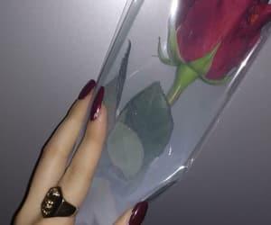 nails, night, and rings image