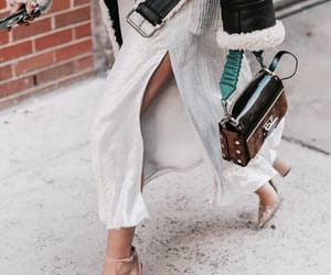 bag, fashion, and highheels image