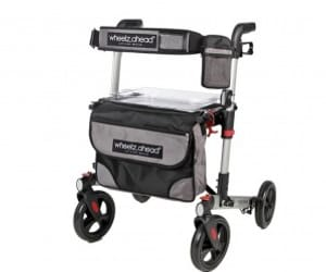 rollator walker, mobility walkers, and rolling frame image