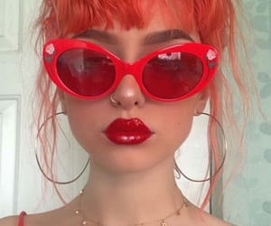 aesthetic, cherry, and girls image