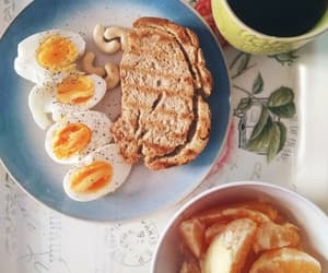 breakfast, eggs, and energy image