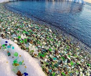 russia and glass beach image