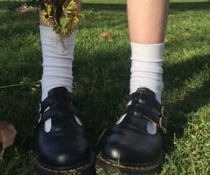 aesthetic, black, and dr martens image