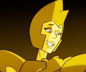 yellow, yellow diamond, and steven universe image