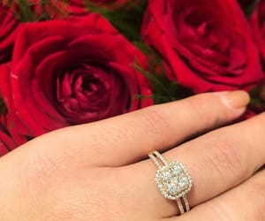 bague, Fleurs, and flowers image