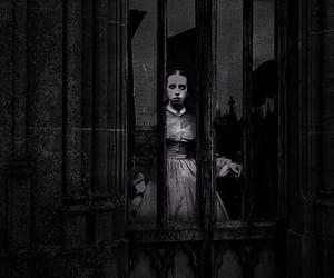 horror, vieille, and noir et blanc image