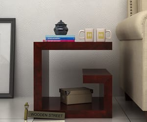 bed table, bedside tables, and modern bedside tables image