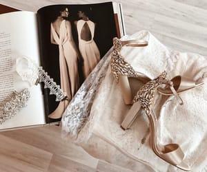 beige, diamonds, and glam image