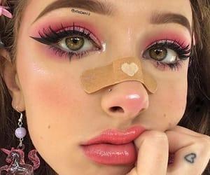 aesthetic, grunge, and make-up image