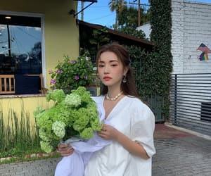 beautiful, fashion, and green image