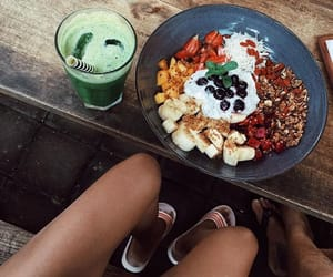 brunch, smoothie, and food image