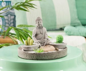 Buddha, garden, and outdoors image